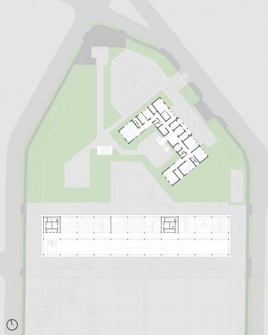 Planta 2° Pavimento – Museu, Jardim e Coordenadoria dos Cursos