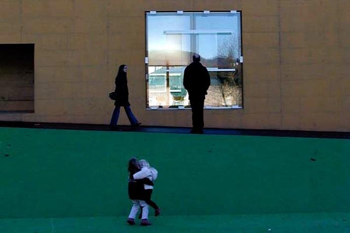 Centro Escolar de Blonay, Suíça. Bonnard e Woefray Arquitetos, 2002-2004<br />Foto Butikofer & de Oliveira Arquitetos
