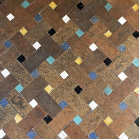 Ladrilhos de piso típicos de Sevilha <br />Foto José Lira