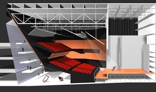 Teatro 1<br />Imagem do autor do projeto