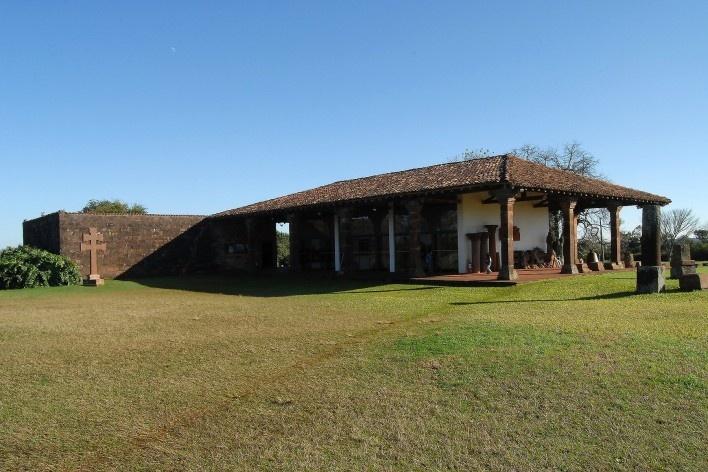 Museu das Missões, São Miguel das Missões. Arquiteto Lúcio Costa<br />Foto André Marques e Silvia Raquel Chiarelli