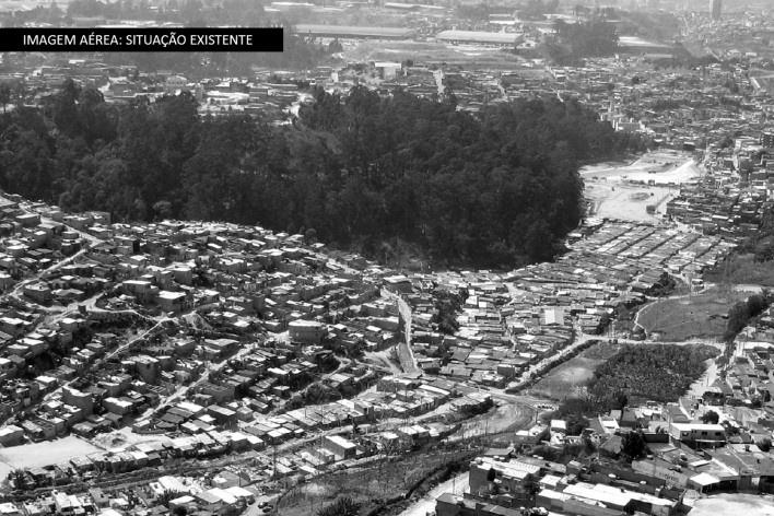 Imagem Aérea: Situação Existente<br />Imagem Vigliecca & Associados