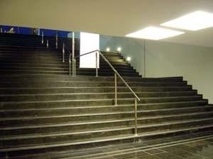 Memorial Getúlio Vargas. Escada vista do interior<br />Foto de Kadu Niemeyer