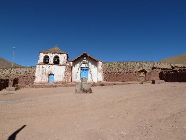 Machuca, deserto do Atacama, Chile<br />Foto Michel Gorski
