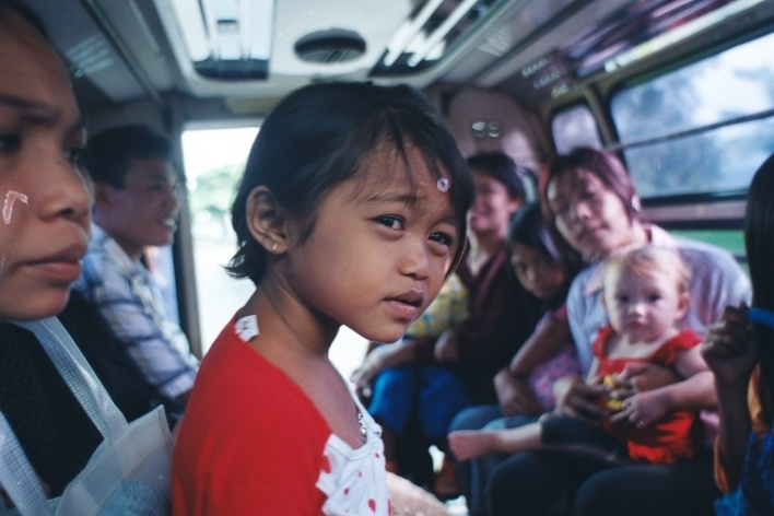 Transporte público, Lombok, Indonésia<br />Foto Fabricio Fernandes