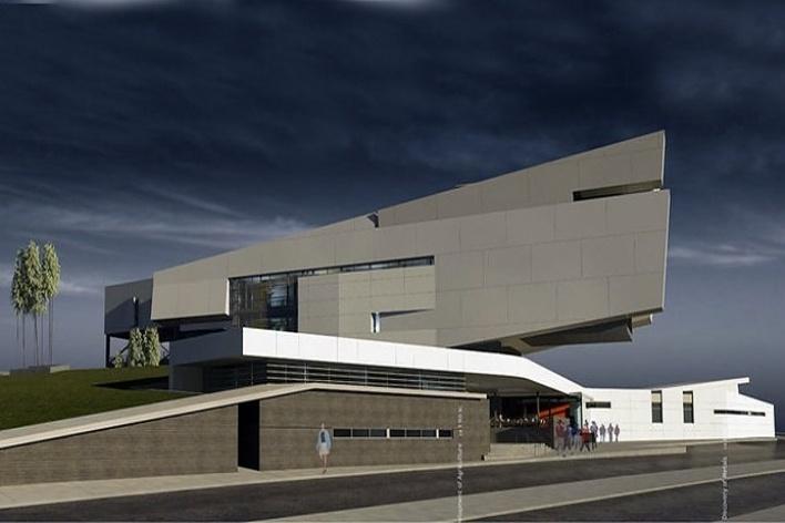Projetos concurso concurso internacional para for Accesos arquitectura