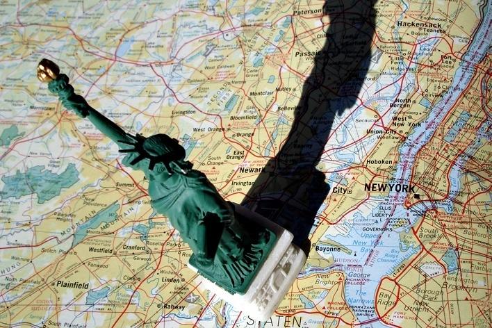 Estátua da Liberdade, Nova York<br />Foto Michel Gorski