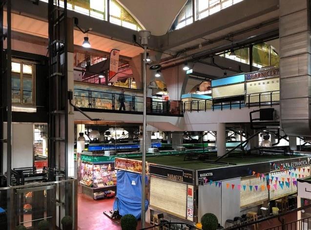 Mercado de la Cebada, Madri, Espanha<br />Foto Celma Chaves