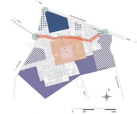 Mapa da Cidade<br />Imagem dos autores do projeto