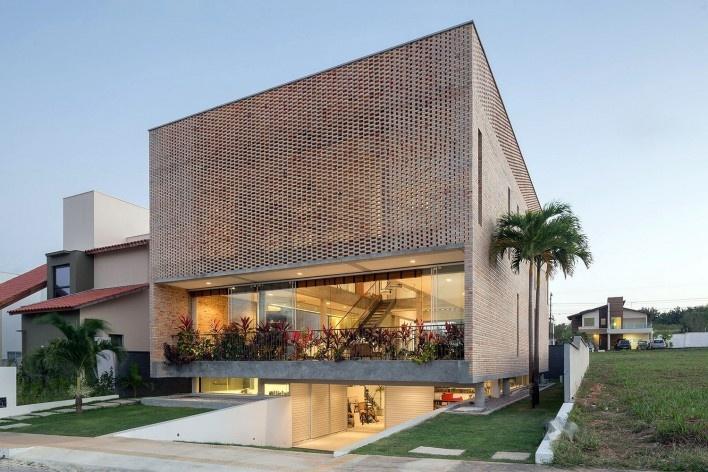 Residência KS, Natal RN, 2016. Arquitetos Alexandre Brasil, Paula Zasnicoff e Raquel Araújo<br />Foto Joana França