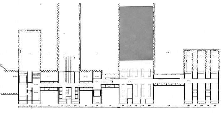 Casa Horitzó, planta, Girona, 2000-2007, RCR Arquitectes<br />Imagem divulgação
