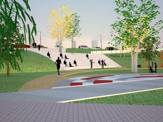 Parque Municipal Nair Bello, estudos volumétricos da fase 01, São Paulo SP Brasil, 2020. Secretaria Municipal do Verde e do Meio Ambiente<br />Imagem divulgação  [Celso Sampaio Arquitetura]