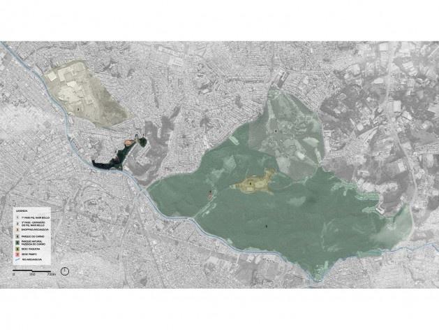 Parque Municipal Nair Bello, contexto do Rio Aricanduva e APA do Carmo, São Paulo SP Brasil, 2020. Secretaria Municipal do Verde e do Meio Ambiente<br />Imagem divulgação  [Acervo SVMA/DIPO]