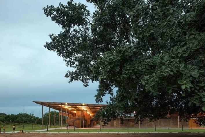Moradas infantis, Formoso do Araguaia TO, 2015. Escritórios Rosenbaum e Aleph Zero<br />Foto Leonardo Finotti