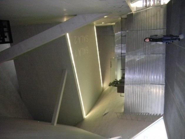Casa da Música em Porto. Projeto de Rem Koolhaas.<br />Foto Haifa Sabbag