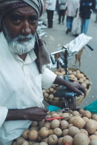 Vendedor, Bangaloore, Índia<br />Foto Fabricio Fernandes