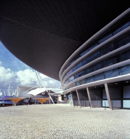 Pavilhão Atlântico, Lisboa. Arquiteto Regino Cruz + SOM<br />Foto Rui Morais de Sousa