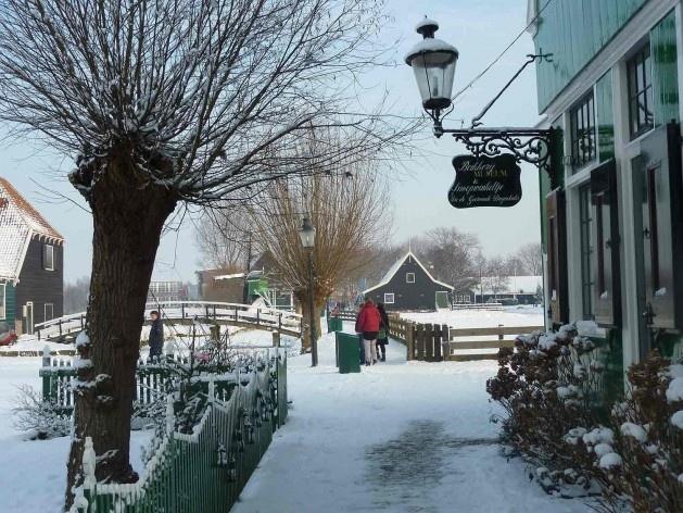 Zeilenmakerspad, um dos caminhos que liga Schipperplein a Kalverringdijk e que é parte da rota turística rápida<br />Foto divulgação  [SteenhuisMeurs BV]