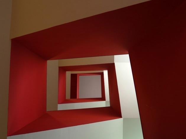 Conjunto Habitacional Fira de Barcelona – L'Hospitalet de Llobregat, escadaria, Barcelona 2009. ONL Arquitectura<br />Foto Gianluca Giaccone