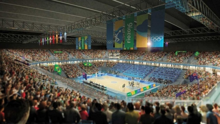 Olympic Indoor Training Center - Hall 1 (Basketball)<br />Rio 2016/BCMF Arquitetos