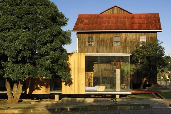 Museu do Pão, Ilópolis RS, Brasil Arquitetura <br />Foto Nelson Kon