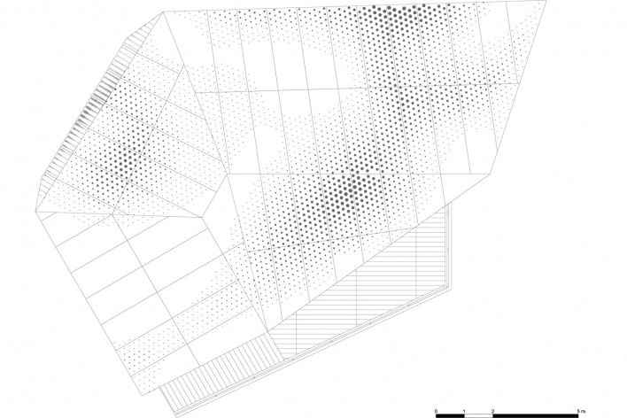 Roof Plan. The Cube, Park Associati. Brussels, 2011<br />image release