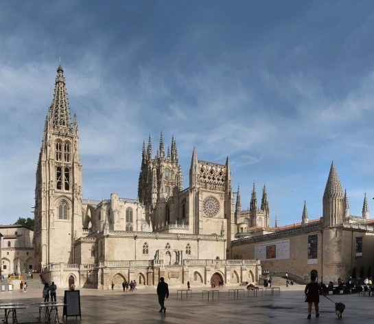 Catedral de Burgos, Caminho de Santiago, Espanha<br />Fotomontagem Victor Hugo Mori, 2019