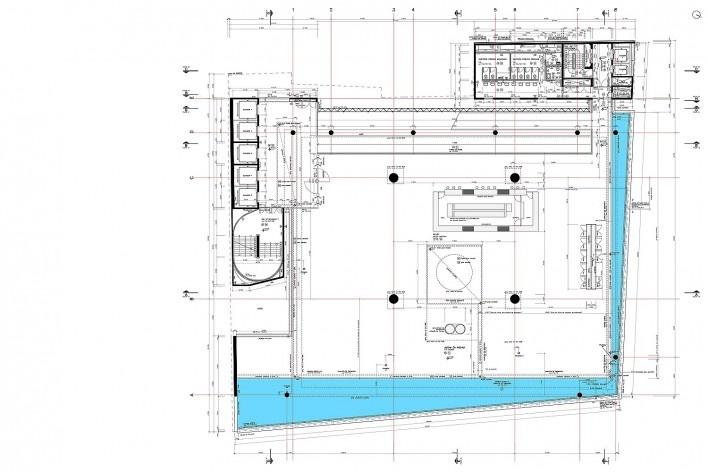 Sesc 24 de Maio, 11º pavimento, jardim da piscina, Paulo Mendes da Rocha + MMBB Arquitetos, São Paulo<br />Imagem divulgação