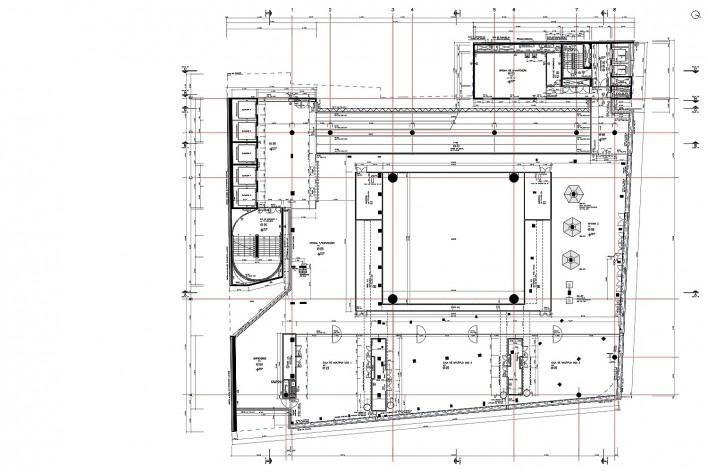 Sesc 24 de Maio, 6º pavimento, exposições e oficinas, Paulo Mendes da Rocha + MMBB Arquitetos, São Paulo<br />Imagem divulgação