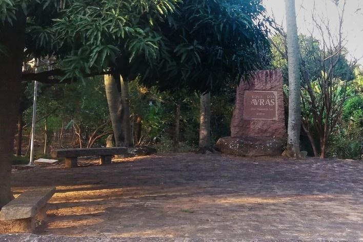 Visitando a Igreja Nossa Senhora de Monte Serrat: Parque de Lavras, Salto<br />Foto Carolina Rodrigues Cunha