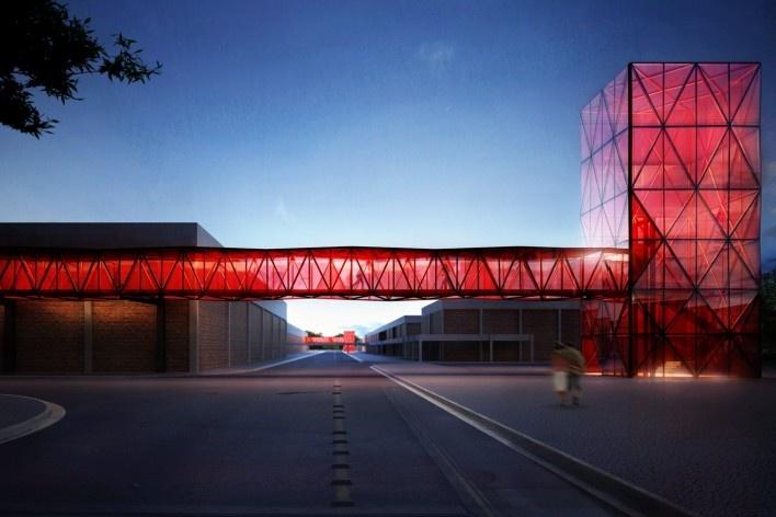 Torre e passarela 1<br />Metro Arquitetos Associados