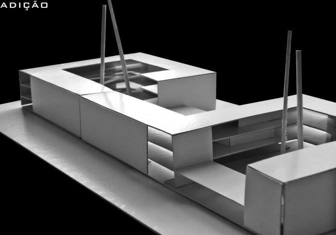 Operações de projeto 02. Concurso Habitação para Todos - CDHU. Edifícios de 3 pavimentos - 1º Lugar.<br />Autores do projeto  [equipe vencedora]