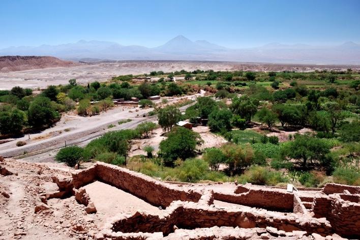 Oásis de San Pedro, Atacama, Chile<br />Foto José Tabacow