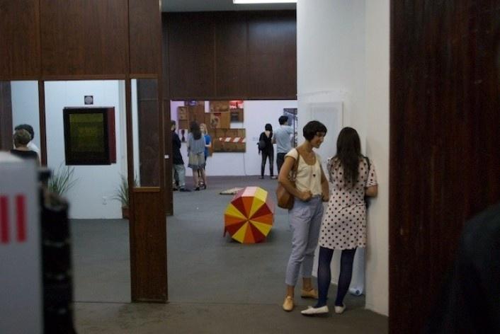 Exposição Projeto Imóvel, pavimento térreo<br />Foto Frans Kemper