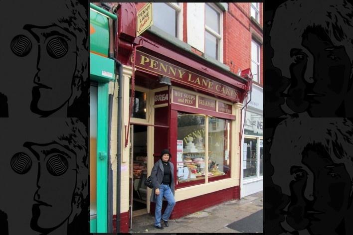 Penny Lane Cakes é doceria que aparece no filme Hard Day's Night<br />Foto Victor Hugo Mori