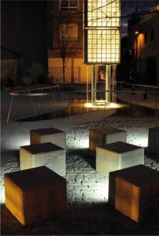 Plaza 3 Plaça de la Baixaeta. Carlos J. Gómez y Eva M. Álvarez. 2009<br />divulgación