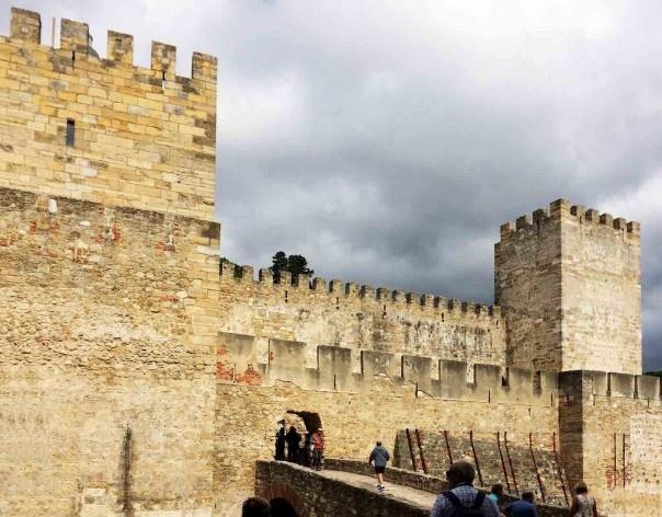 Castelo de São Jorge, Lisboa<br />Foto Renato Sérgio Alves