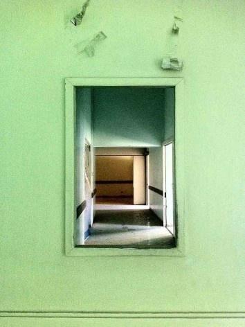 Ala abandonada do Complexo Hospitalar do Juquery<br />Foto Abilio Guerra