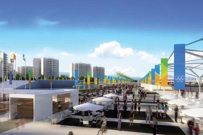 Olympic Village – Carioca Street<br />Rio 2016/BCMF Arquitetos