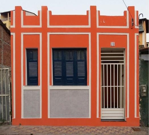 Casa no Recôncavo. Cachoeira<br />Foto Eduardo Oliveira Soares, agosto 2018