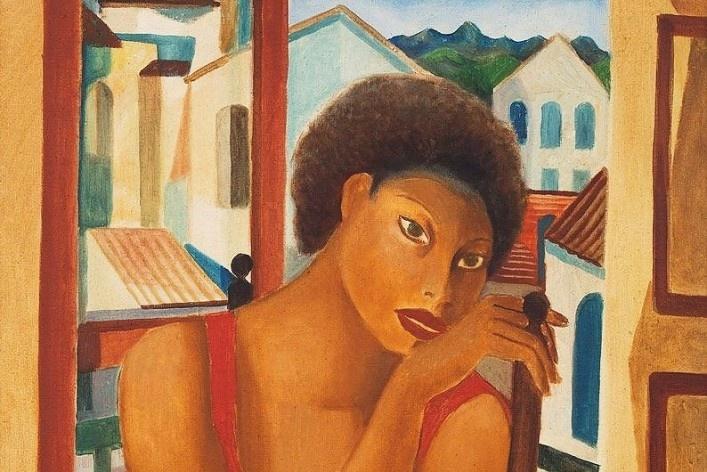 Emiliano Di Cavalcanti, <i>Meninas Cariocas</i>, 1926, óleo sobre tela<br />Imagem divulgação