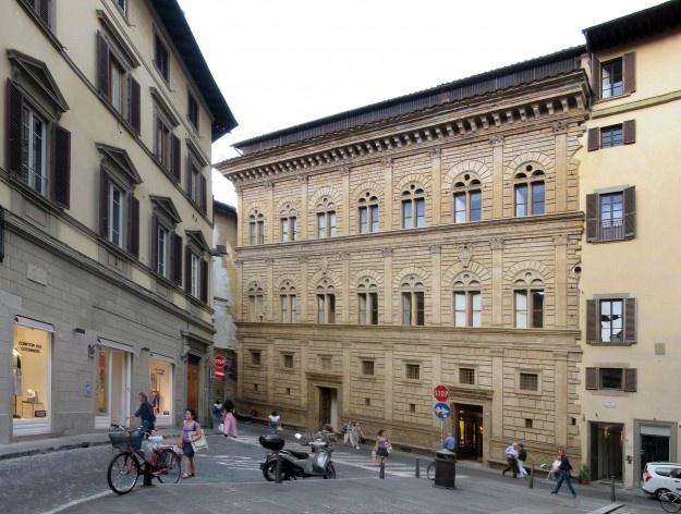 Palazzo Rucellai, Firenze, 1455, arquiteto Leon Battista Alberti<br />Foto Victor Hugo Mori