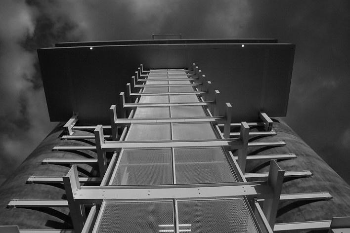 Torres de pressurização, Espaço de exposições, eventos e mirante<br />Foto Arquivo MooMAA