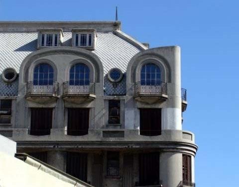Arquitetura expressionista<br />Foto Valdir Zwetsch
