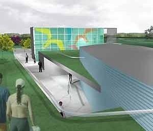Centro Cultural e Centro Administrativo<br />Imagem dos autores do projeto