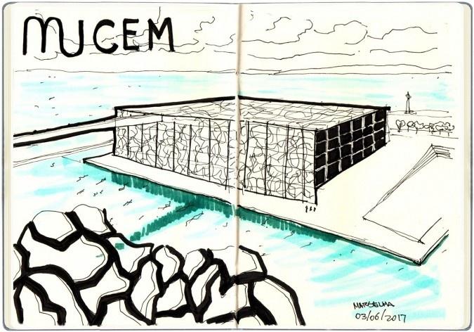Musée des civilisations de l'Europe et de la Méditerranée, Marseille, França<br />Desenho de Petterson Dantas