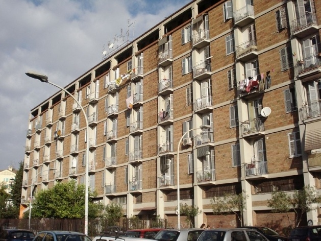 Conjunto habitacional Tuscolano II (INA-Casa), arquitetos Mario De Renzi e Saverio Muratori, 1950-60<br />Foto Claudia dos Reis e Cunha