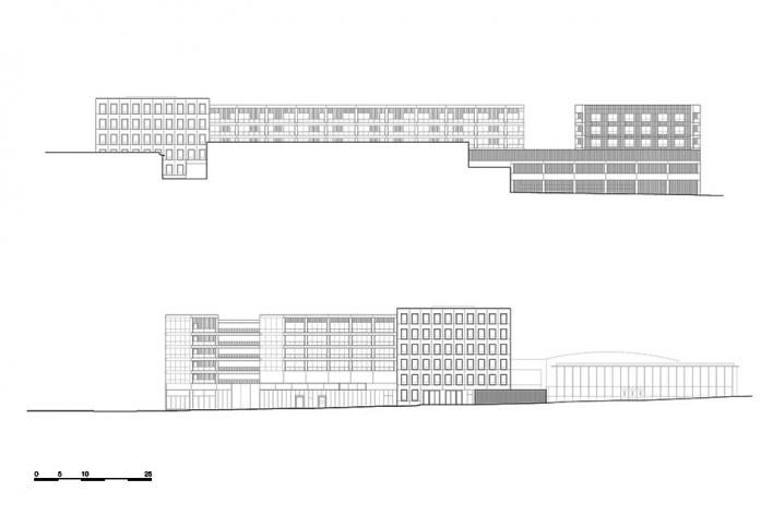 Bottière Chénaie, façades, Nantes, France, 2019. Architects Kees Kaan, Vincent Panhuysen, Dikkie Scipio (authors) / Kaan Architecten<br />Imagem divulgação/ disclosure image/ divulgation  [Kaan Architecten]