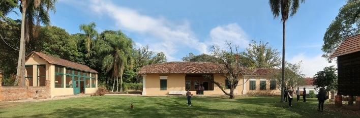 Fazenda Vassoural, casa tipo bandeirista, Itu<br />Foto Victor Hugo Mori