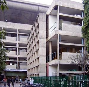 Suprema Corte de Chandigarh<br />Foto de Denise Teixeira e Luís Barbieri